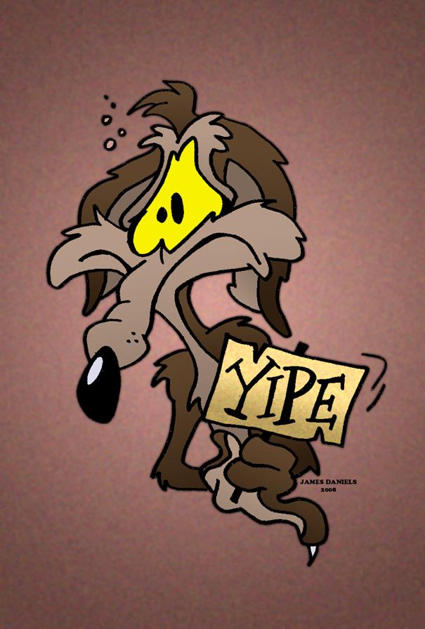 Looney tunes baby coyote