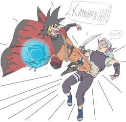 Xeno Goku Time Patrol Vs Fuu