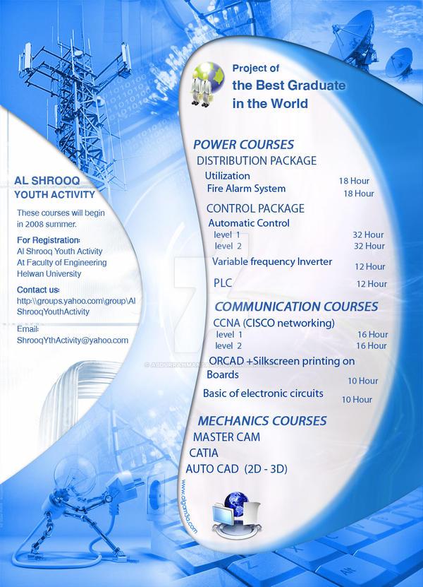 Courses brochure Adv by CoCoWaZWaZ