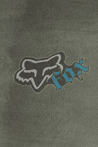 Gray Mesh Blue Fox Motocross Logo Wallpaper By Drouell On DeviantArt