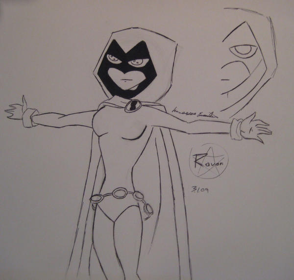 Congratulate, simply How to draw raven from teen titans