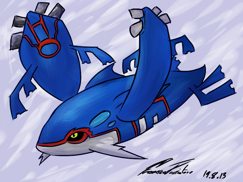 Mega Kyogre - Pokemon by F-Stormer-3000 on DeviantArt