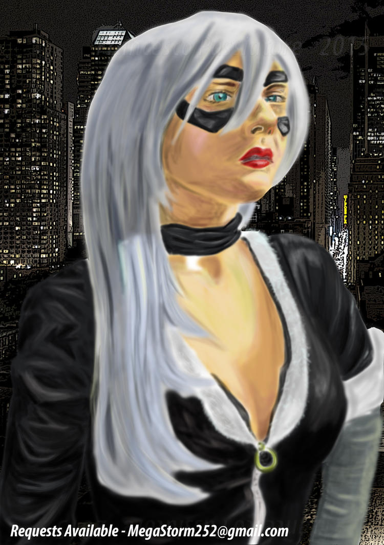 Black Cat - Spiderman! by F-Stormer-3000