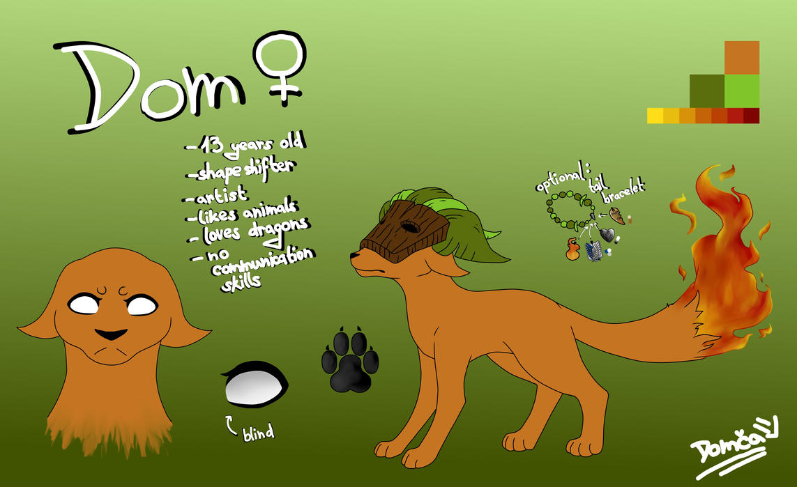 Dom Ref March 2017 by domcastyle123