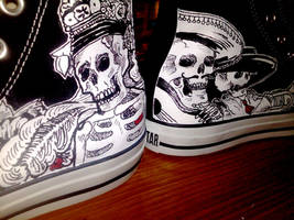 Day of the Dead Converse 2