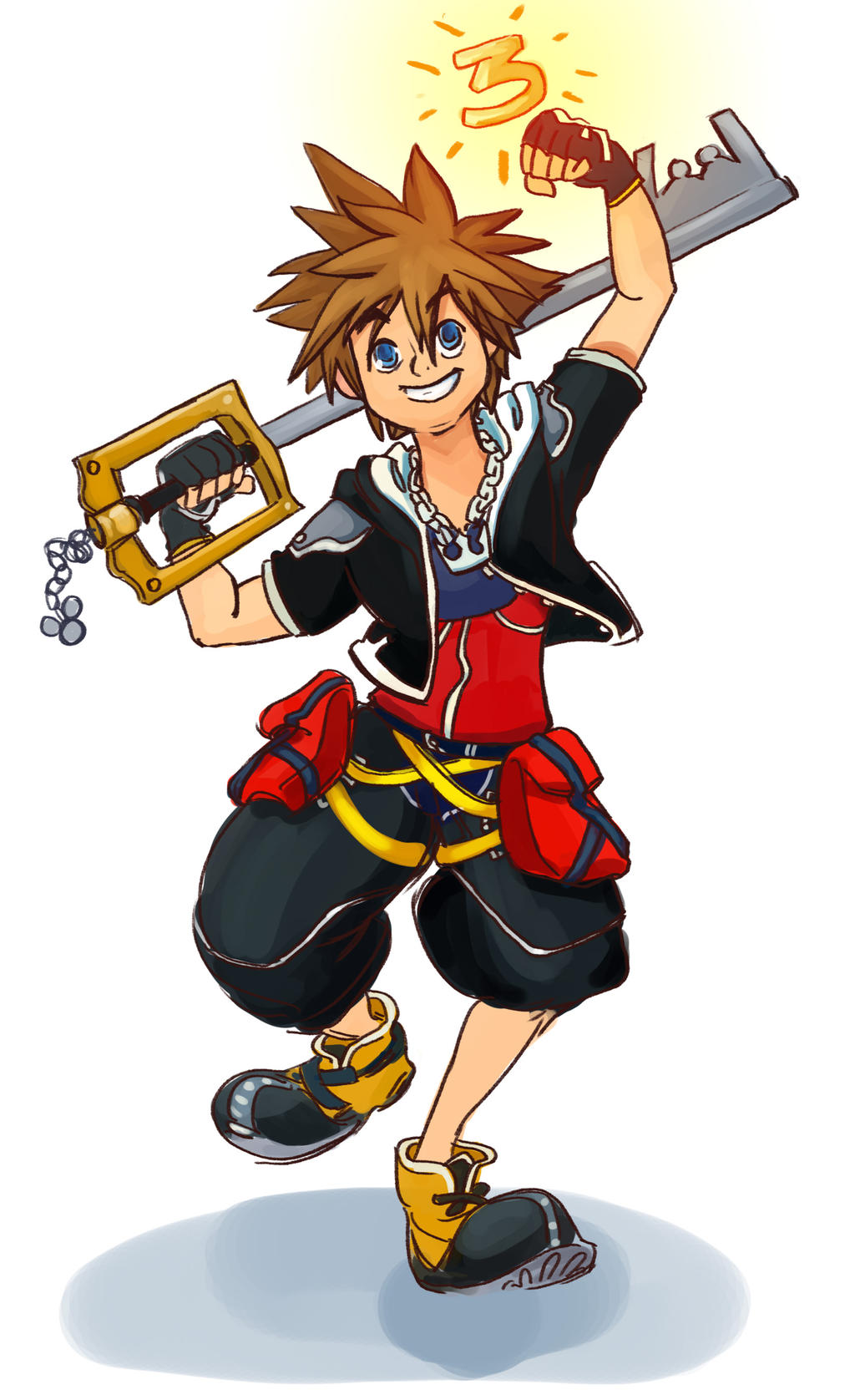 Kingdom Hearts 3!! by BlueCheshireCat