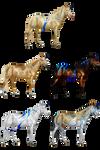 Eclectic Herd - HiddenAcresStables by mapal