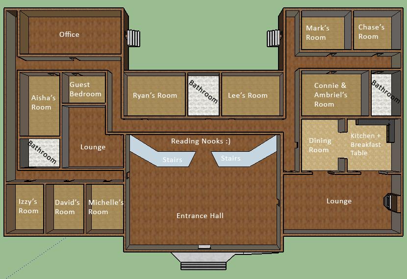 Angelus House Ground Floor by mapal