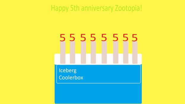 Happy 5th Anniversary Zootopia