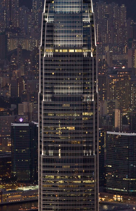 Hong kong skyscraper by juhku