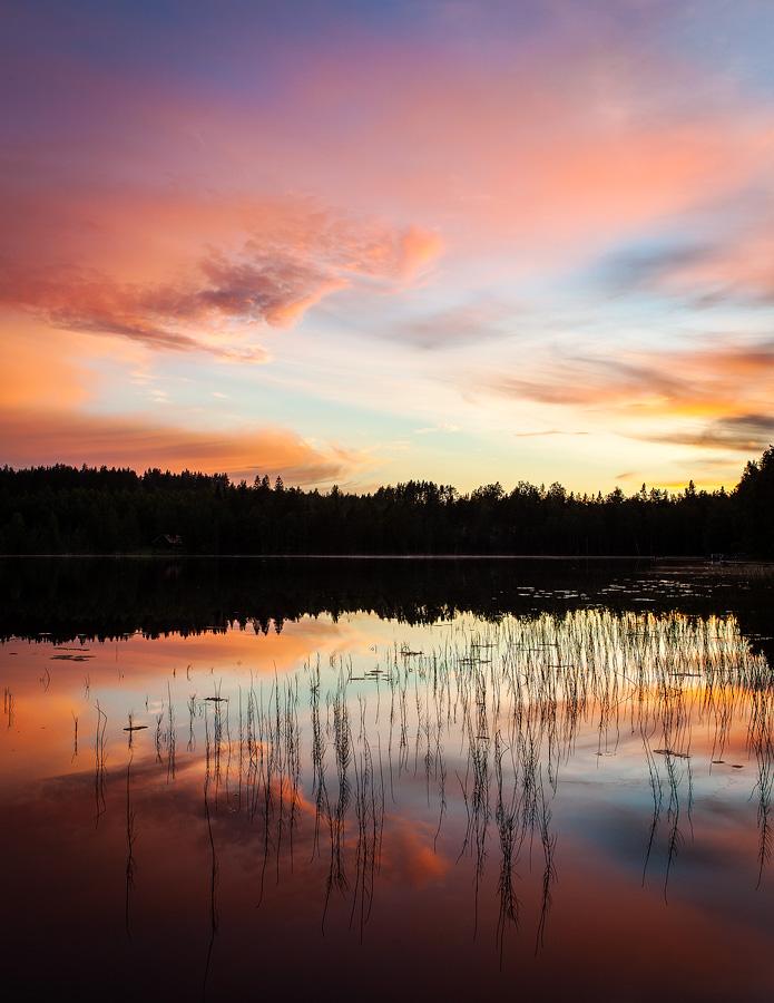 Auringonlaskua by juhku