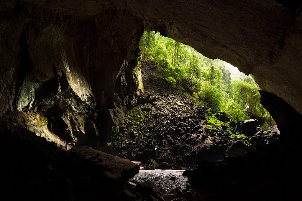 Deer Cave by juhku