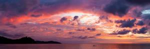 Borneo sunset