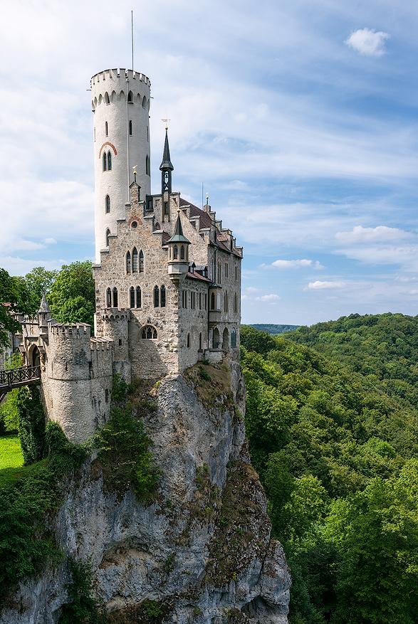 Lichtenstein Castle by JuhaniViitanen