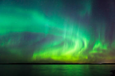 Northern lights 01 by JuhaniViitanen