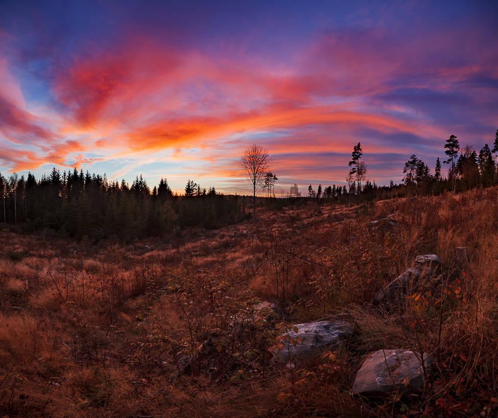 Sunset clouds 2 by JuhaniViitanen