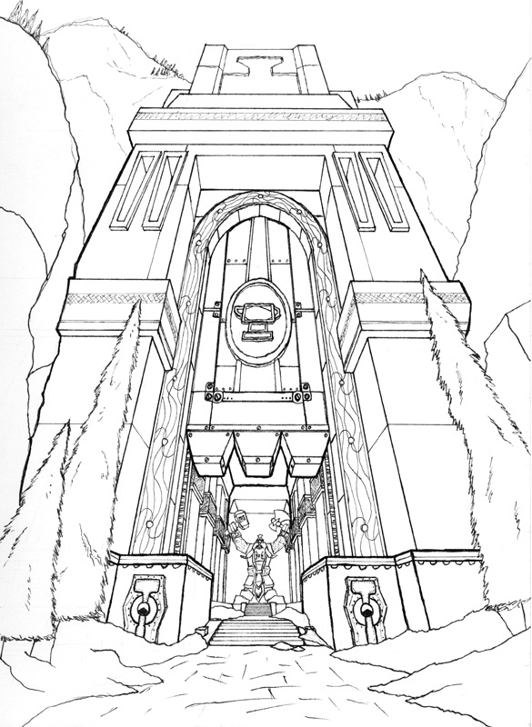Gates of Ironforge by geraden22