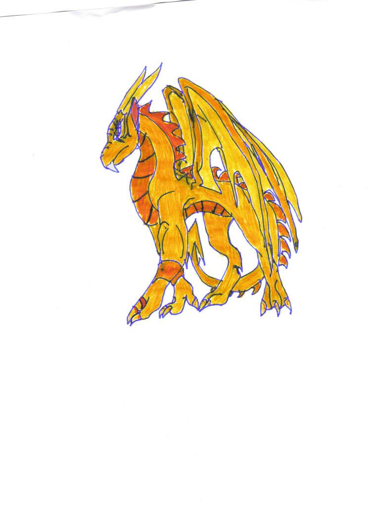 Dragon Tailan by whitefangedwolf200
