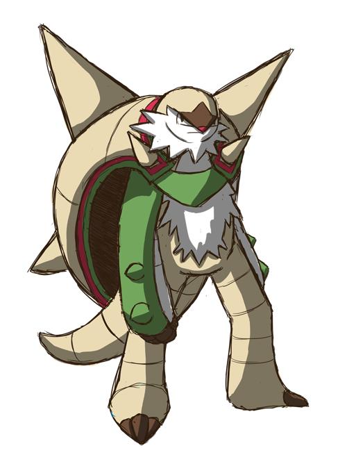 Chesnaught Mega Evolution Pokemon Images | Pokemon Images