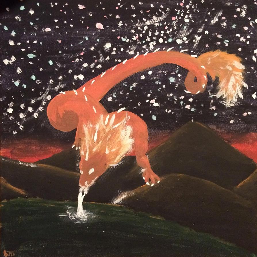 Spirit Dragon by shasashadrax
