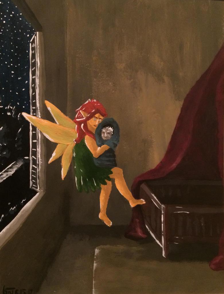 The Fairy Thief by shasashadrax