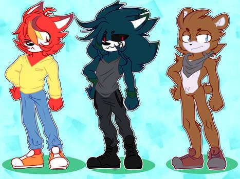 Sonic Adoptable Batch #3 (CLOSED)