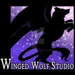 Winged Wolf Studio Logo