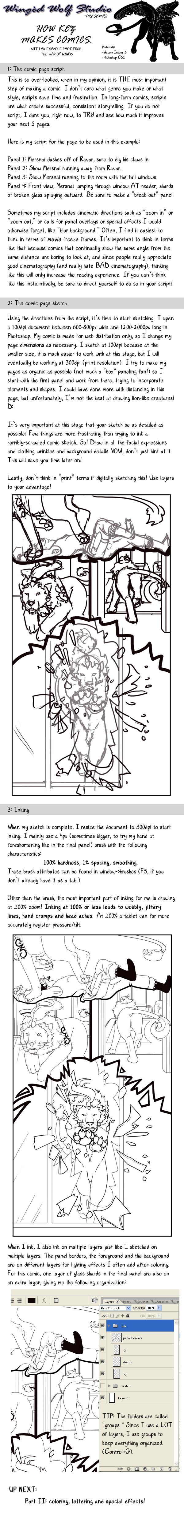 How Kez Makes Comics I