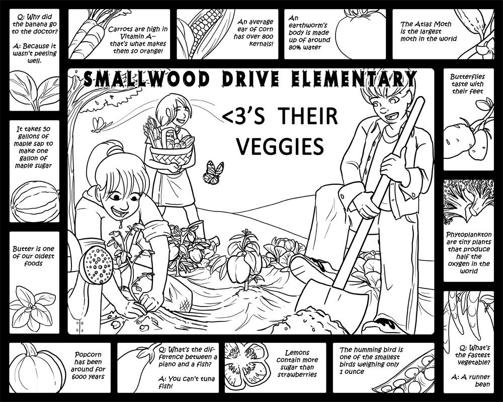 Smallwood Drive Elementary by Kezhound