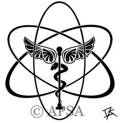 APSA T-shirt logo