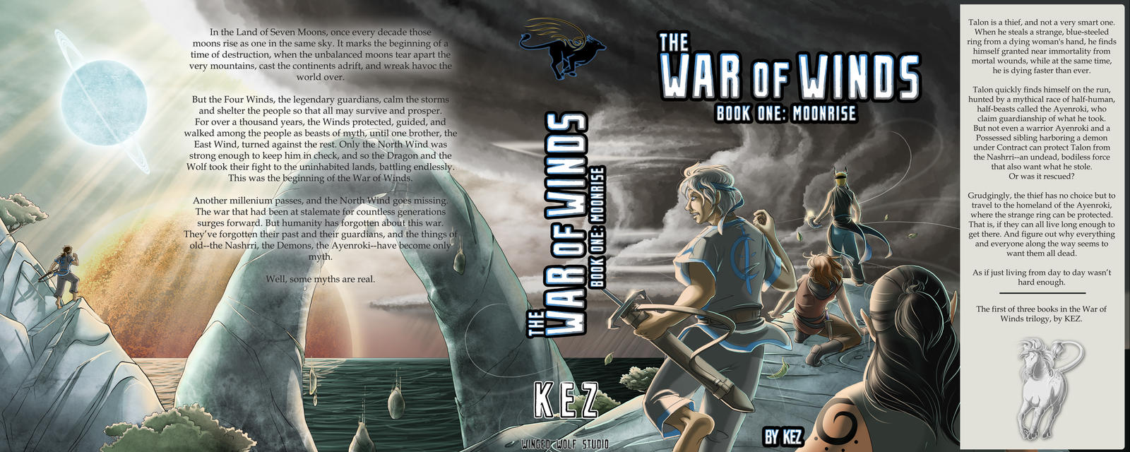 War of Winds Cover (words)
