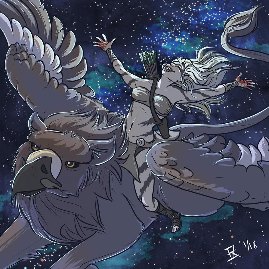 MoonSlayer Fan Art by Kezhound