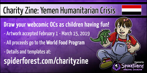 Webcomic Charity Zine
