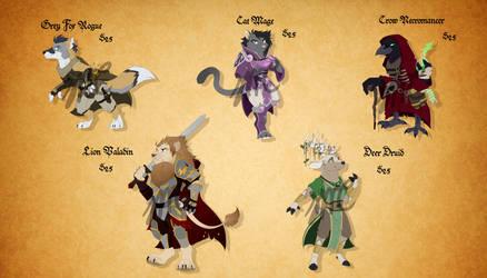 Fantasy Anthro Adoptables! (CLOSED)