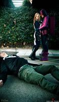 Hawkeye and Mockingbird - Dead it