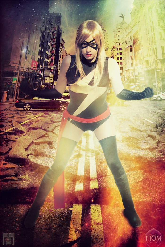 Ms. Marvel - Ready by WhiteLemon