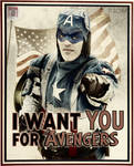 Captain America - We need you!