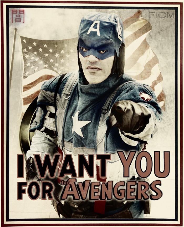 Captain America - We need you! by WhiteLemon
