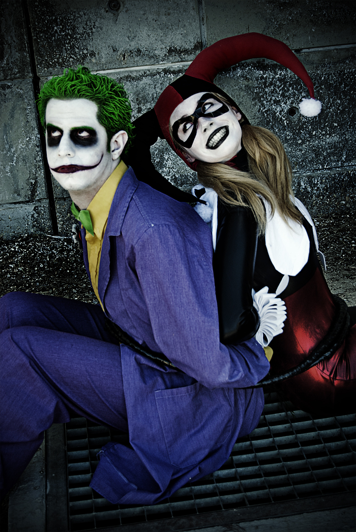 Harley / Joker - Not too bad by WhiteLemon