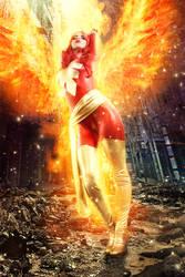 Dark Phoenix - Rise Again by FioreSofen