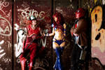 Red Hood And The Outlaws Cosplay - Meeting again