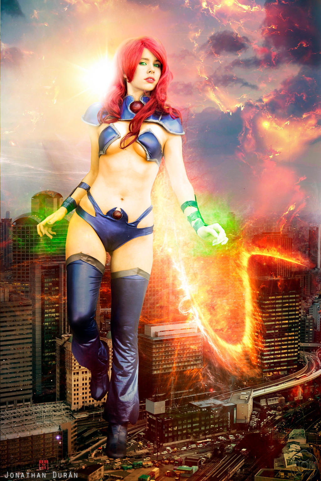 Starfire - Red Hood and The Outlaws - New 52 - DC by WhiteLemon