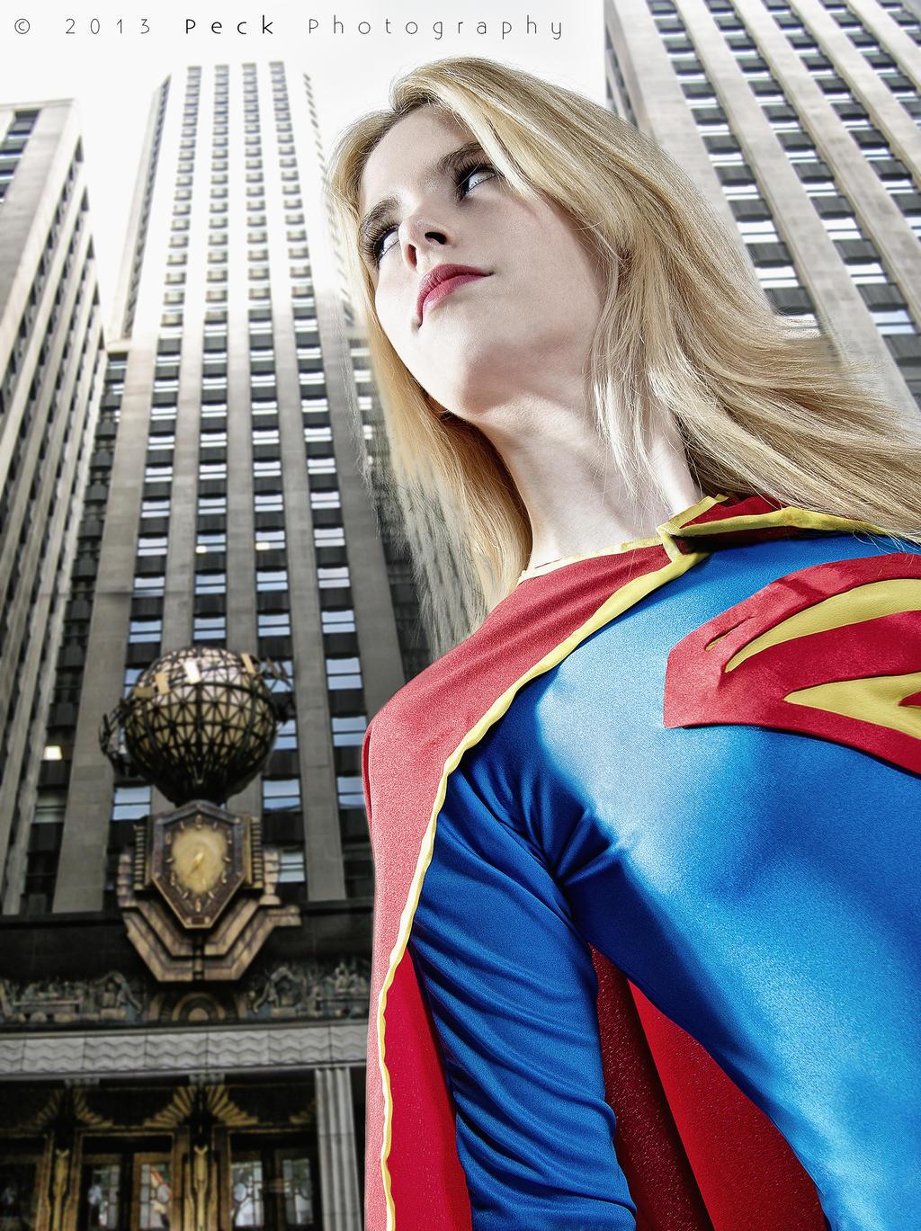 Supergirl - New 52 - DC Comics by WhiteLemon