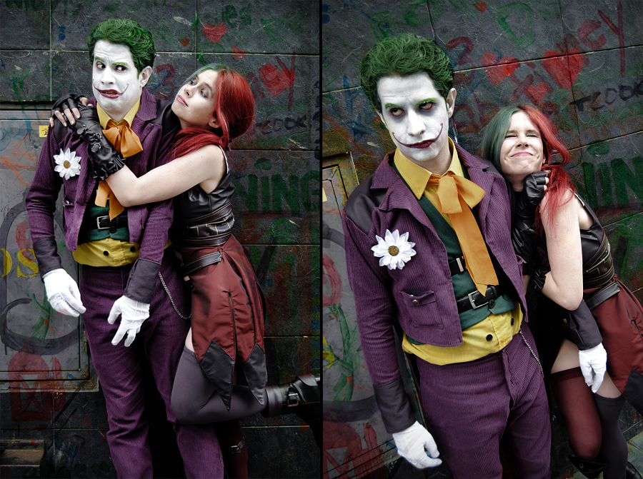 Harley Quinn and Joker - Injustice: Gods Among Us by WhiteLemon
