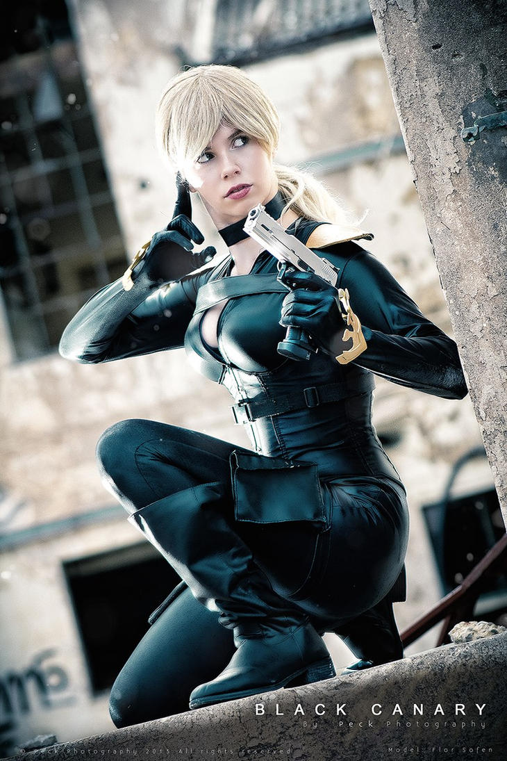 Team 7 - Black Canary - New 52 - DC Comics by WhiteLemon