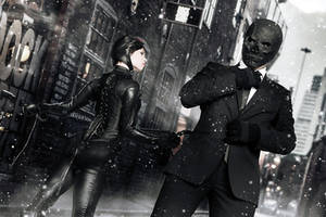 Catwoman and Black Mask - Arkham Serie - DC Comics