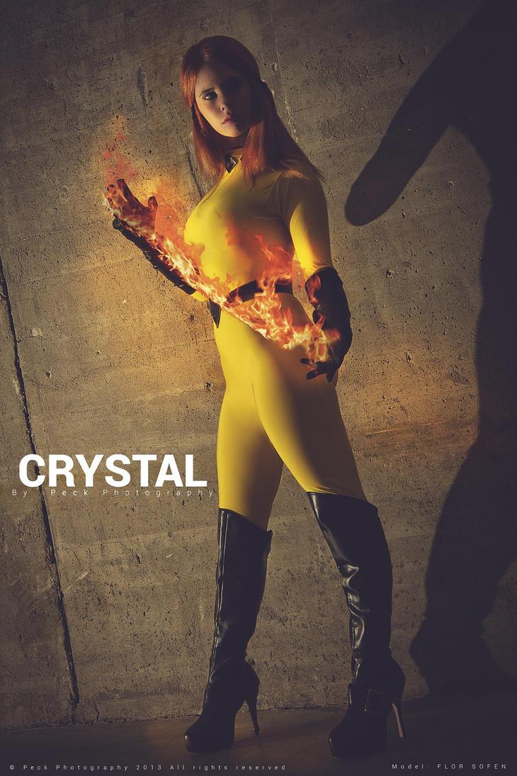 Crystal - Inhumans - Marvel Comics by WhiteLemon