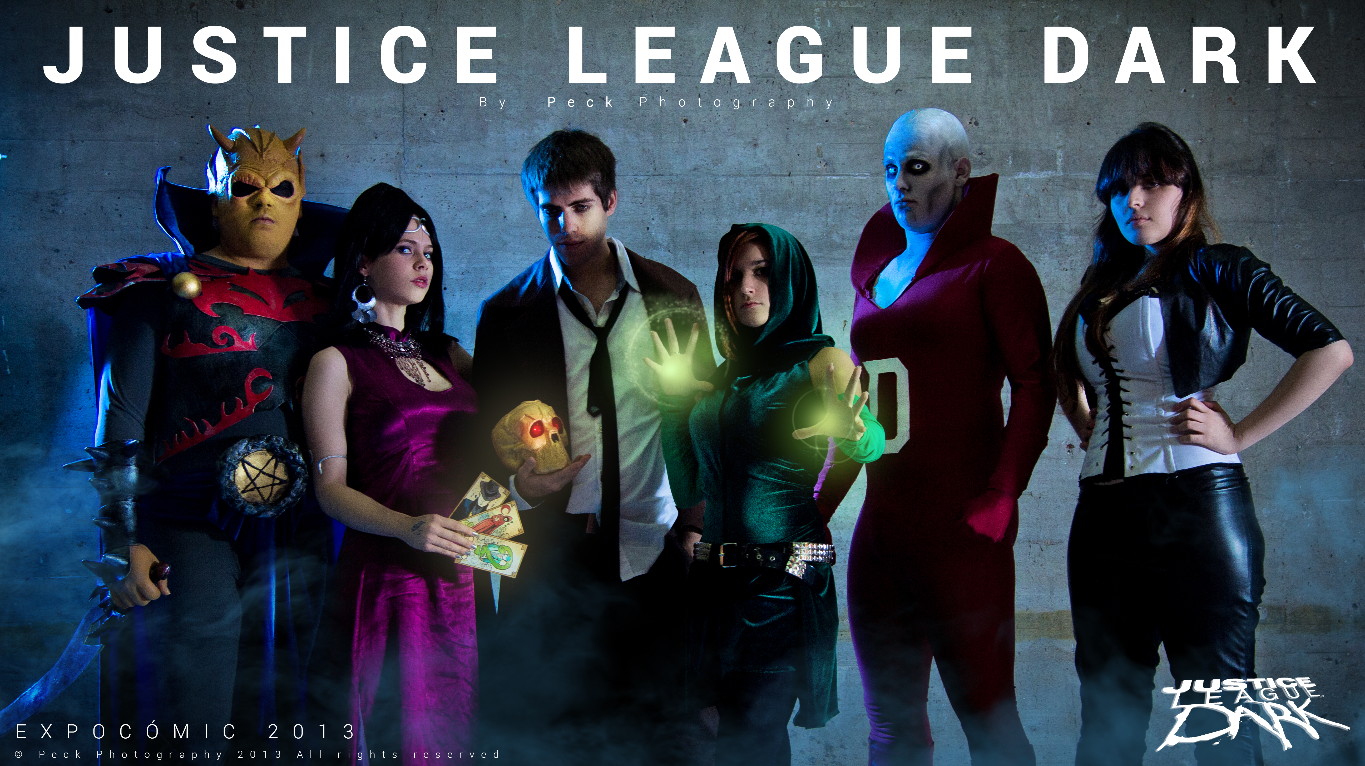 Justice League Dark - New 52 - DC Comics by WhiteLemon