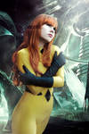 Crystal - Inhumans - Marvel Comics by FioreSofen