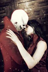 Deadman and Madame Xanadu - Justice League Dark by FioreSofen